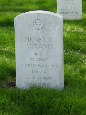 This is Henry Spiese Aurand's tombstone